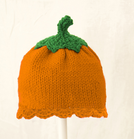 Pumpkin Hat for Girl